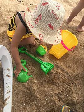 日照金沙滩浴场旅游景点攻略图