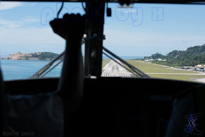 马埃国际机场图片
