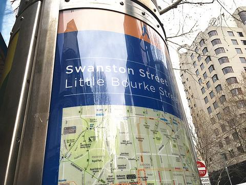 斯旺斯顿街旅游景点攻略图