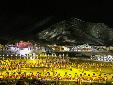 《文成公主》大型实景剧旅游景点图片