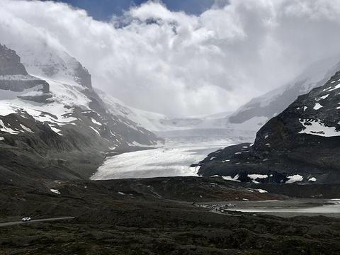 阿萨巴斯卡冰川旅游景点攻略图