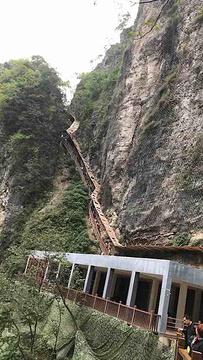 张家界大峡谷玻璃桥旅游景点攻略图