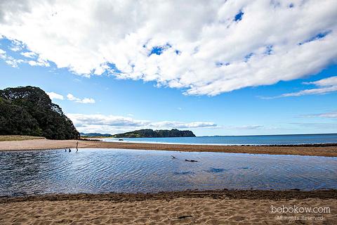 热水海滩旅游景点攻略图