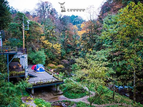龙苍沟叠翠溪景区旅游景点图片