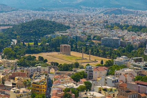 雅典卫城的图片