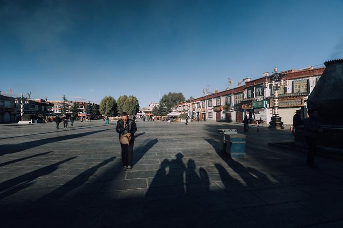 大昭寺广场图片