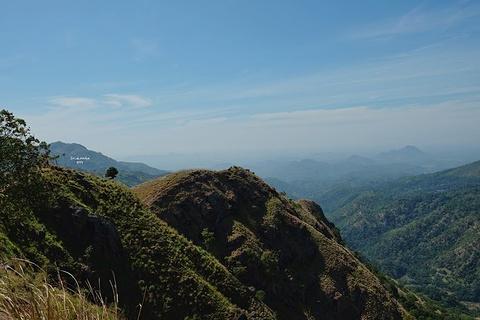 小亚当峰旅游景点攻略图