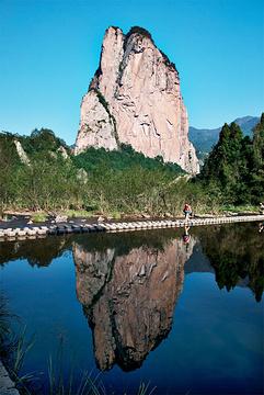 石桅岩景区旅游景点攻略图
