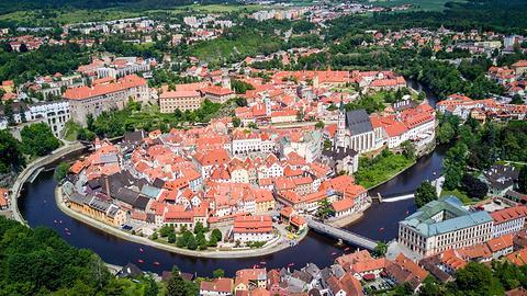 捷克克鲁姆洛夫旅游景点图片