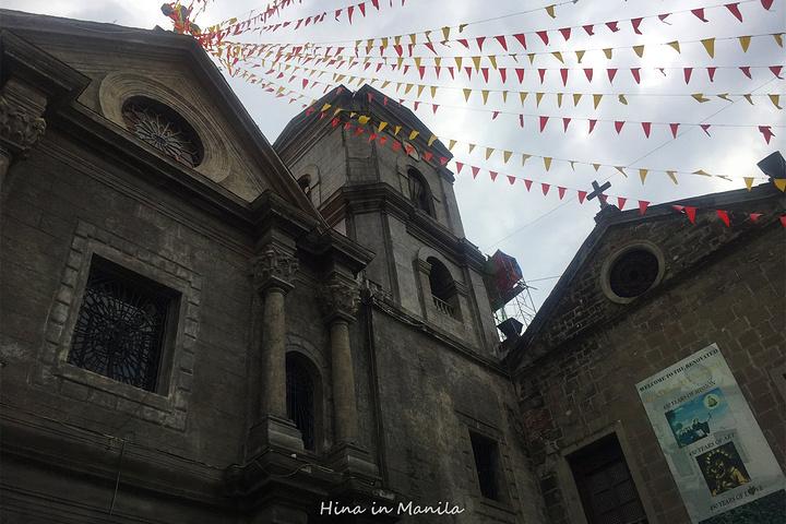 """""""门票:200比索☟ 作为世界遗产,不得不说菲律宾人对它重视不够。只能抬头望才感觉得到历史的沧桑_圣奥古斯丁教堂""""的评论图片"""