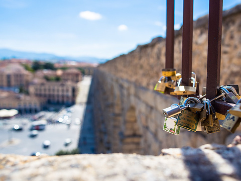 古罗马高架引水渠旅游景点图片