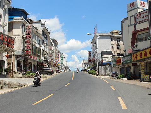 汤口镇旅游景点图片