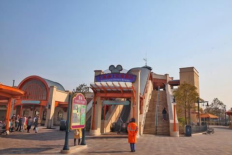 迪士尼小镇旅游景点攻略图