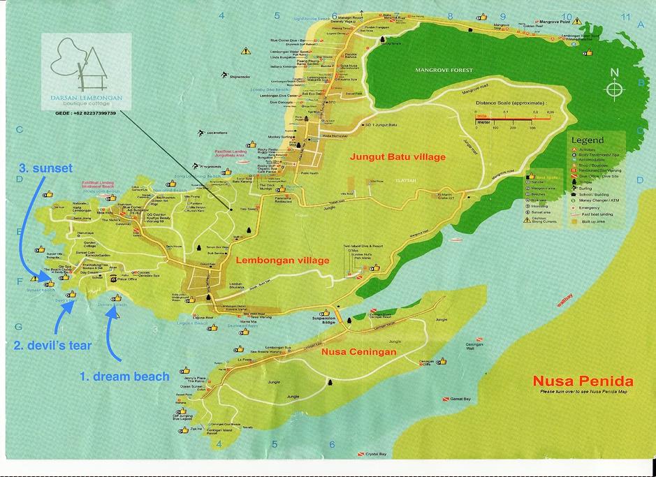 蓝梦岛旅游导图