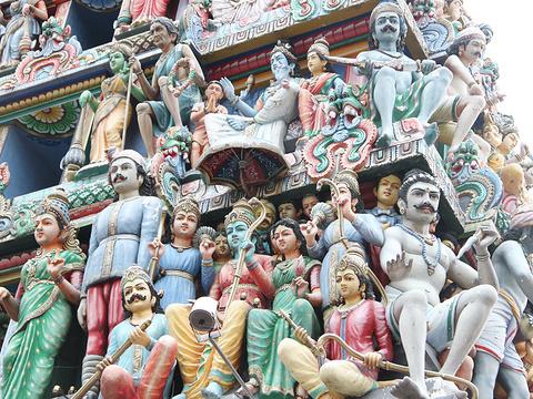 马里安曼兴都庙旅游景点图片
