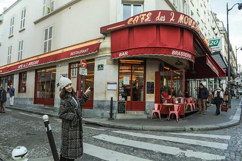Cafe des Deux Moulins旅游景点攻略图