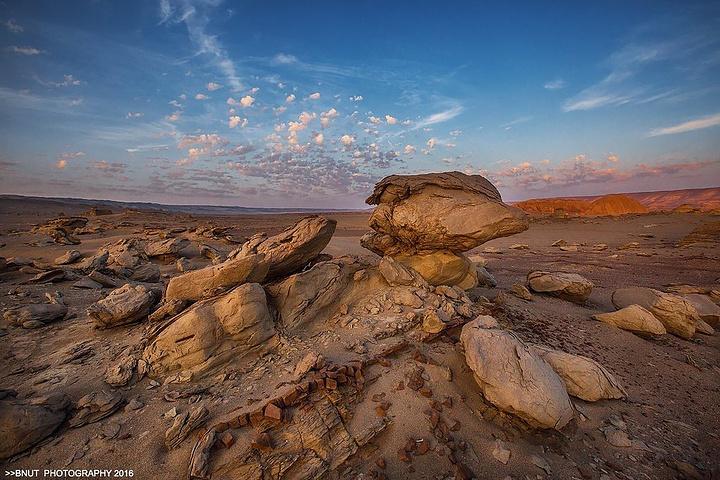 """""""观罗布泊的美景会感觉天地之间,人无比渺小,但又无比强大。这里的每一张照片也终将成为历史的见证_罗布泊""""的评论图片"""