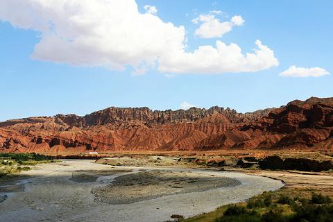 天山神秘大峡谷旅游景点攻略图