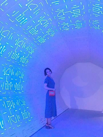 """""""时光隧道也是第二次故地重游,为了让60元门票显得特别值,拉着我妹在里面游荡了很久_正佳广场""""的评论图片"""