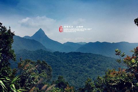 尖峰岭旅游景点攻略图
