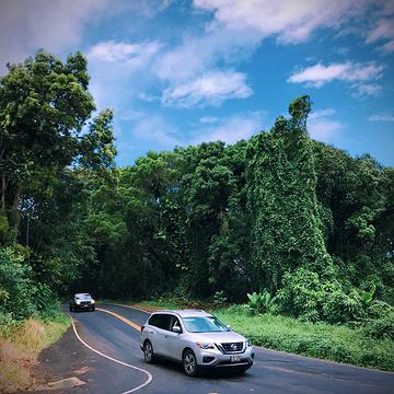 哈纳公路旅游景点攻略图