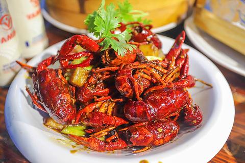 谭十三·小龙虾·烧烤·夜宵(船山路总店)旅游景点攻略图
