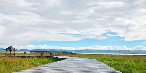 尕海湖旅游景点攻略图