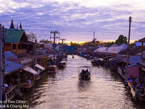 安帕瓦水上市场旅游景点图片