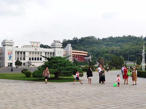 朝鲜凯旋门旅游景点攻略图
