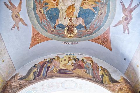 谢尔盖耶夫三一圣大修道院旅游景点攻略图