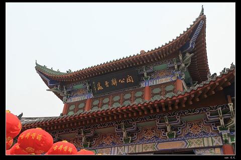 灞陵桥旅游景点攻略图