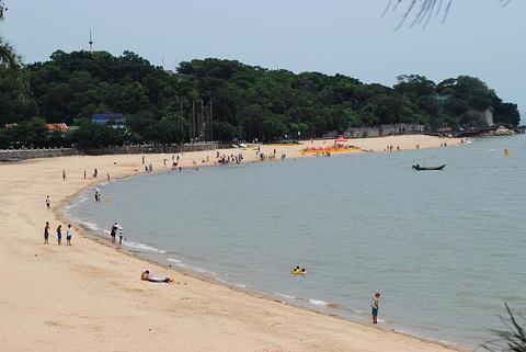 鼓浪屿环岛海滨浴场旅游景点攻略图