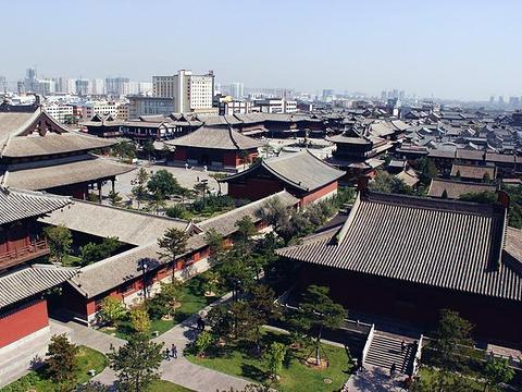 华严寺旅游景点图片