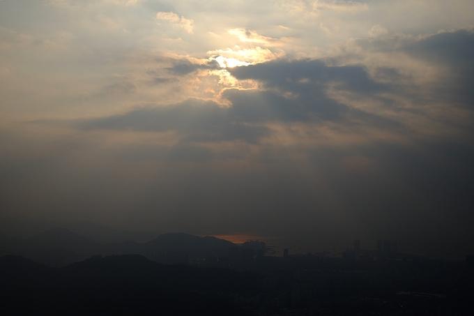 四湾一景观光长廊图片