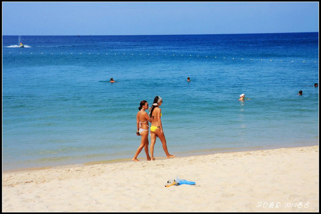 普吉岛的冬日盛夏时光