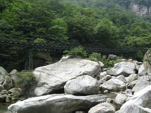 京山天河度假村旅游景点攻略图