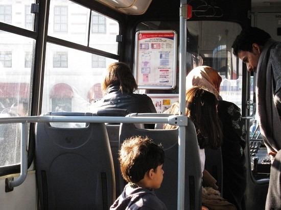 伊斯坦布尔的公交车图片