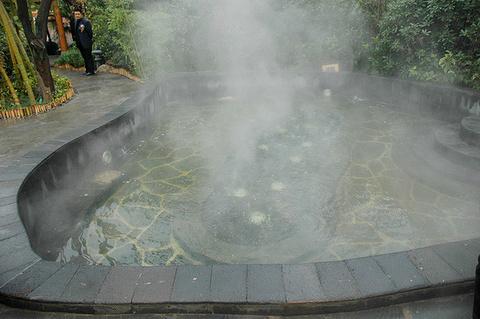 太白山汤峪温泉旅游景点攻略图