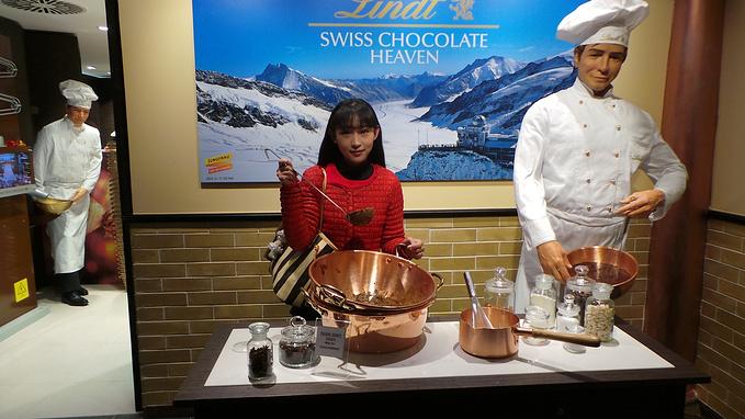 瑞士莲巧克力制作室图片