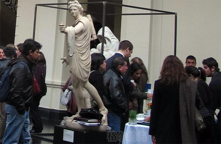 """""""我们进去的时候已经有很多人了_国家美术博物馆""""的评论图片"""