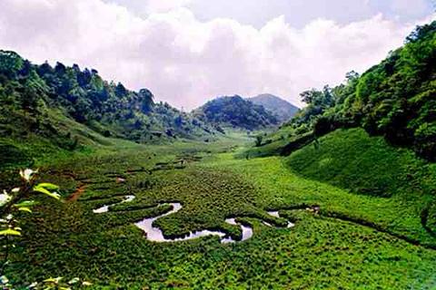 神河源风景区旅游景点攻略图