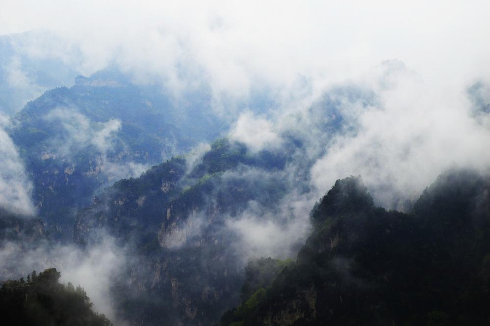 雾游云台山