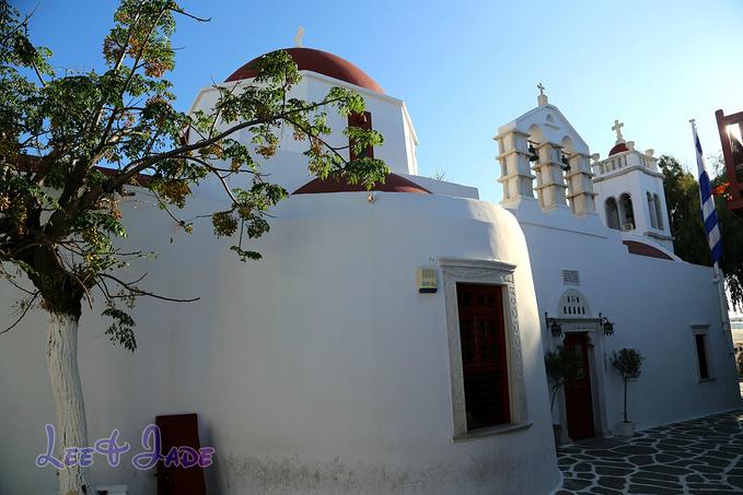 雅典大都市教堂图片