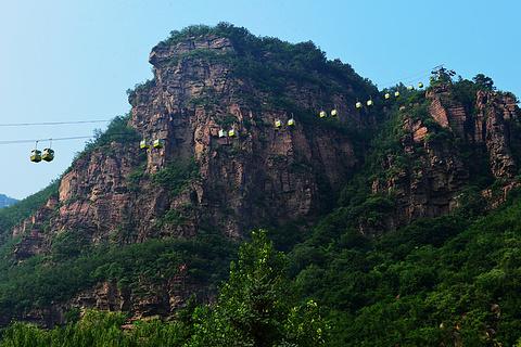 苍岩山风景区旅游景点攻略图