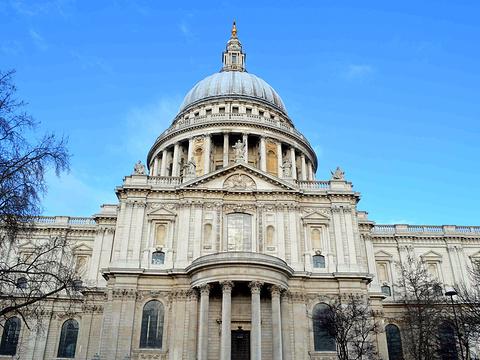 圣保罗大教堂旅游景点图片