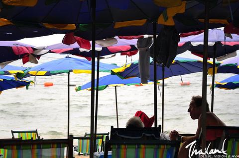 芭提雅海滩旅游景点攻略图