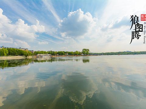 南湖公园旅游景点图片