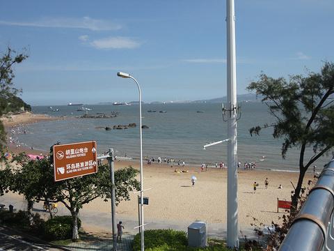 厦大白城沙滩旅游景点攻略图