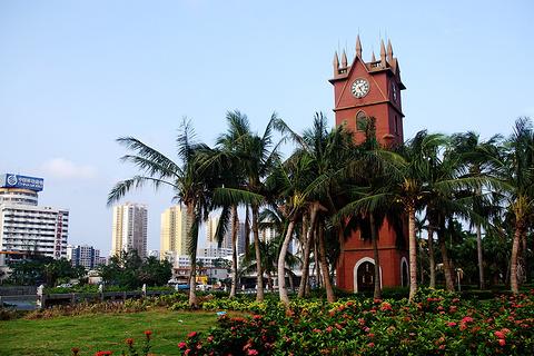 海口钟楼的图片
