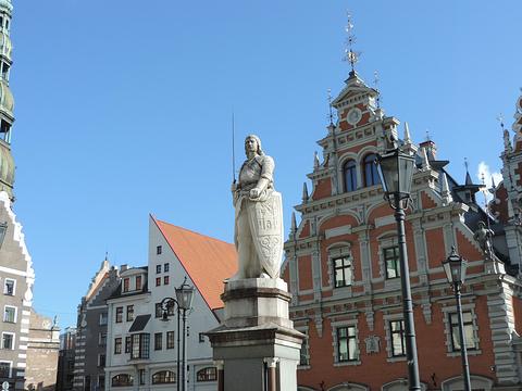 里加市政厅广场旅游景点攻略图